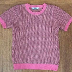 Zara short sleeve knit
